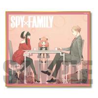 色紙 SPY×FAMILY/ロイド&アーニャ&ヨル