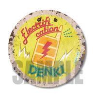 レトロ看板缶バッジ僕のヒーローアカデミア/上鳴 電気_CBLH-07