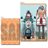 クリアファイル3ポケット ゆるキャン△ SEASON2/なでしこ&リン