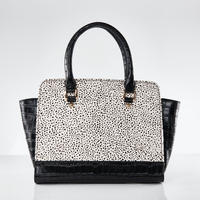 再入荷! Croco Handbag / Dalmatian Dog Color