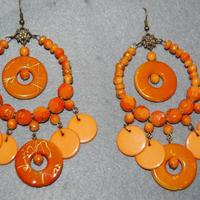 PENDIENTES GITANAS (カラー豊富)