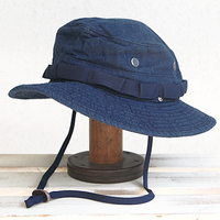 NICOTAMA OUTDOOR CLUB / ORGANIC JUNGLE HAT / デニムバージョン