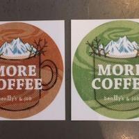 MORE COFFEE ステッカー