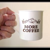 more coffee / Enamel Mug