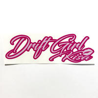 """DriftGirl""ステッカー"