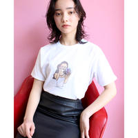 【 Bent mirror selfy series 】selfy Tee A