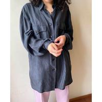 silk100% black shirt