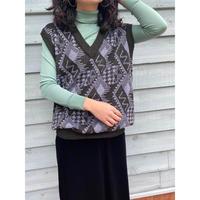 design knit vest