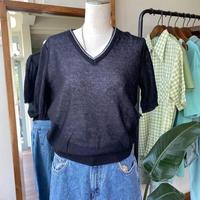 black summer knit