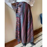 polyester rap skirt
