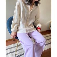 linen 100% pullover shirt