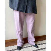 made in USA pink wool pants
