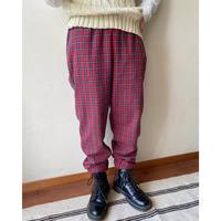 90s old gap check pants