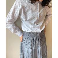 flower pattern blouse