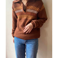 skipper brown sweater