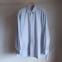 KAPTAIN SUNSHINE Regullar Collar Shirt L/S BLUE HEIRLINE MALTI STRIPE  KS20SSH11