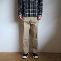 YAECA MEN CHINO CLOTH PANTS クリーズド 3colors 11607