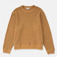 DIGAWEL Hexagonal patterns Sweatshirt BEIGE