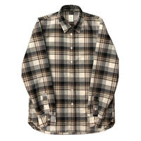KICS DOCUMENT / KHONOROGICA T/C PLAID REGULAR SHIRT BEIGE