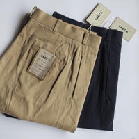 YAECA MEN CHINO CLOTH PANTS ワイドテーパード 2colors