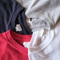YAECA WOMEN クルーネック ポケット Tシャツ 4colors 88004