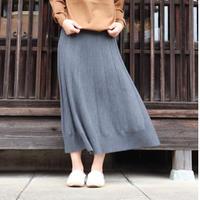BATONER WOMEN Extra Fine Merino Flare Knit Skirt BN-21FL-019 3colors