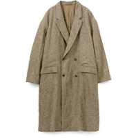 Graphpaper MEN Graphpaper Tweed Kibata Coat LEAF GM193-10045