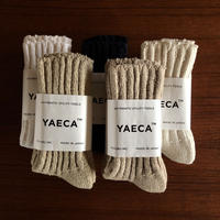 YAECA COTTON SILK SOCKS 5colors