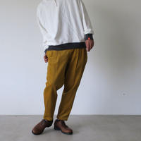 DIGAWEL 2Tuck Tapered Pants Corduroy MUSTARD