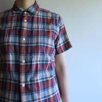 YAECA WOMEN コンフォートシャツ リラックス ショートスリーブ 68120 3colors