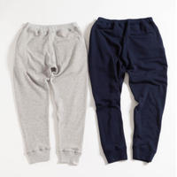 "NOWHAW ""WOK"" sweat pants NAVY"