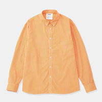 DIGAWEL Gingham Shirt ORANGE