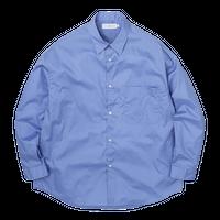 Graphpaper MEN Broad Oversized L/S Regular Collar Shirt 2colors