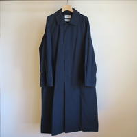 YAECA MEN SOUTIEN COLLAR COAT LONG NAVY 19555