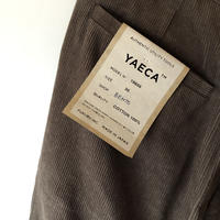 YAECA MEN CHINO CLOTH PANTS クリーズド CD 2colors 19656