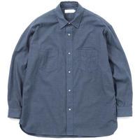 Graphpaper MEN THOMAS MASON Work Shirt N BLUE GM193-50061