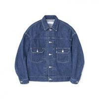 Graphpaper WOMEN Denim Jacket FADE INDIGO GL213-20131B