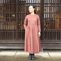 YAECA WRITE WOMEN タックドレス STRAWBERRY MEADOW 90754