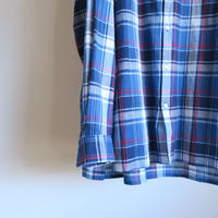 DIGAWEL C/R CHECK LONG SHIRT 2colors