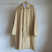 YAECA MEN SOUTIEN COLLAR COAT STANDARD KHAKI