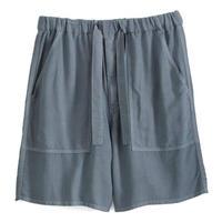 Graphpaper MEN Soft Cupro Baker Pants GRAY GM191-40010