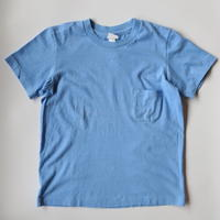 YAECA WOMEN 丸胴 クルーネック ポケット Tシャツ 170207
