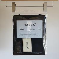 YAECA MEN  DRY-TOUCH CREW NECK TEE NAVY 39007