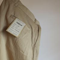 YAECA MEN CHINO CLOTH PANTS スタンダード 2colors    19656