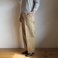YAECA WOMEN CHINO CLOTH PANTS クリーズド 2colors 60601