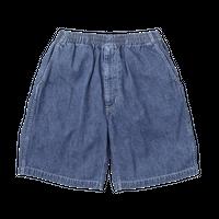 Graphpaper MEN Denim Baggy Shorts FADE INDIGO