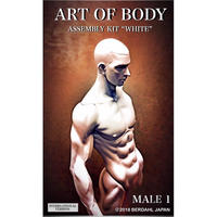 ART OF BODY MALE1(Assembly kit)color:WHITE [INTERNATIONAL VERSION]