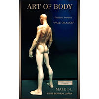 ART OF BODY MALE1-L(Finished  Product)color: PALEORANGE[INTERNATIONAL VERSION]