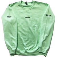 """hEaLtHibOyZ """"Earth of the lost cotton"""" sweat shirts"""