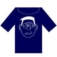 マツオさんTシャツ(マツオネイビー半袖)